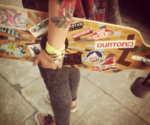 authentic, Burton, and girl image