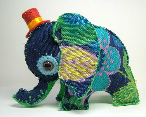 crafts, doll, and elephant image