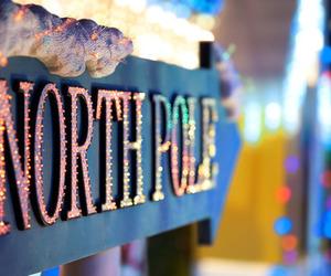 christmas, winter, and north pole image