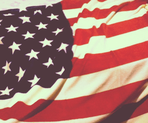 america, american flag, and love it image