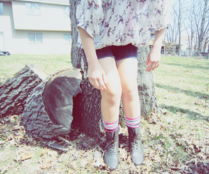 apparel, shorts, and boots image