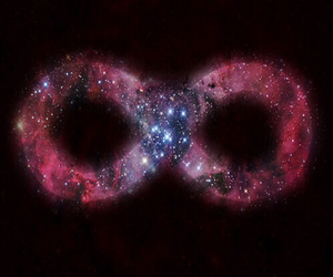 infinity, galaxy, and stars image