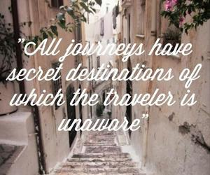 quote, travel, and cute image