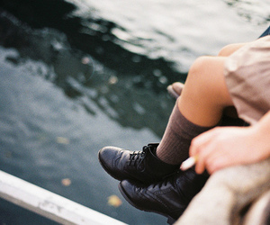 girl, photography, and shoes image