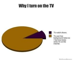 funny, tv, and true image