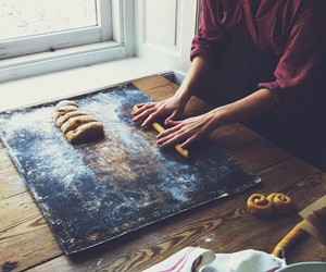 food, baking, and kitchen image