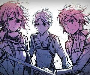 shingeki no kyojin, anime, and armin image