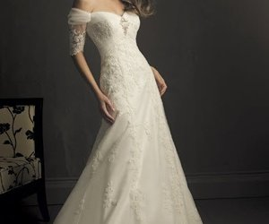 boda, encaje, and vestido image