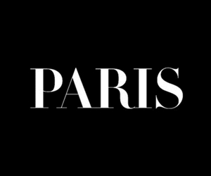 paris, black, and text image