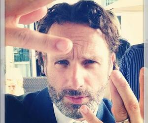 andrew lincoln and twd image