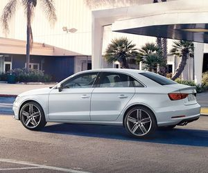 audi, white, and cars image