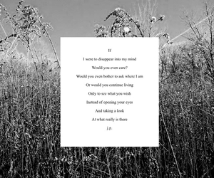 care, poem, and poetry image