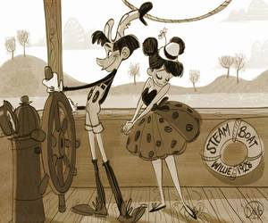 disney, cute, and mickey mouse image