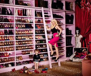 high heels, shoes, and shoes closet image