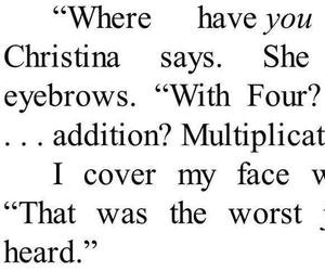 book, christina, and four image
