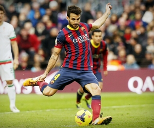 Barcelona, goal, and fabregas image