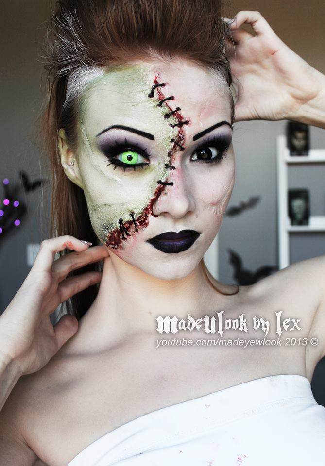 35 images about diy halloween makeup ideas on we heart it see more about halloween makeup and diy