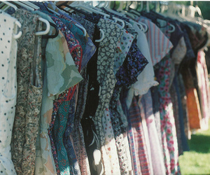 dress, clothes, and vintage image