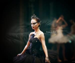 black swan, natalie portman, and perfect image