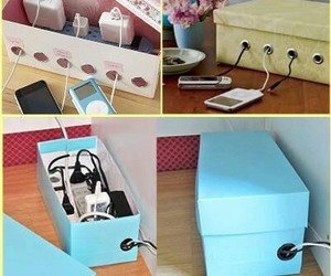 diy, box, and ideas image