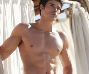 abs, gym, and beautiful men image