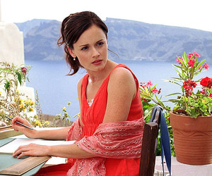 alexis bledel, beautiful, and Greece image