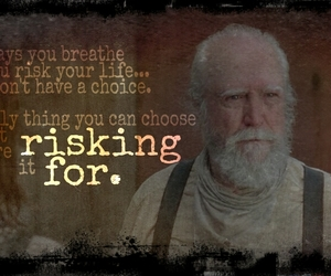 quotes, walkers, and zombies image