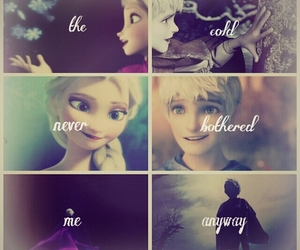elsa, frozen, and cold image