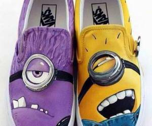 minions, vans, and shoes image