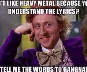 heavy metal and music image