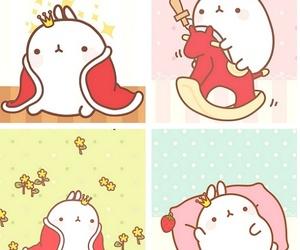 kawaii, molang, and cute image