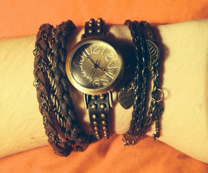 Braclet, watch, and fashion image