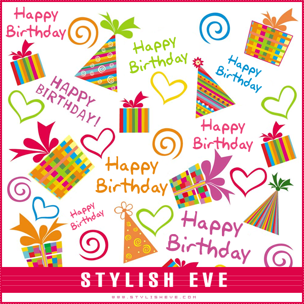 Stylish Eve Design Inspirations Stylish And Cute Happy Birthday Cards