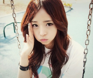 pretty, ulzzang, and songahri image