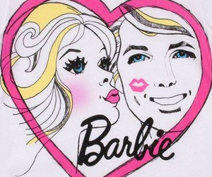 barbie, kiss, and blonde image