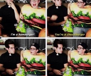 youtube, cheeseburger, and sawyer image
