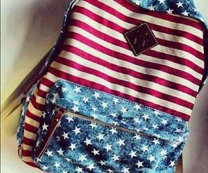 usa, bag, and backpack image