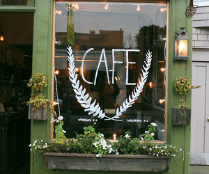 cafe, design, and travel image
