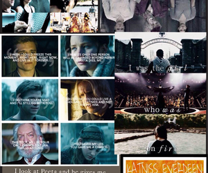 Collage, the hunger games, and peeta image