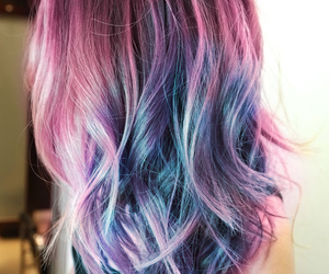 <3, colored hair, and dyed hair image
