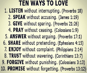 pray, give, and listen image