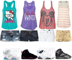 shorts, jordan, and outfit image