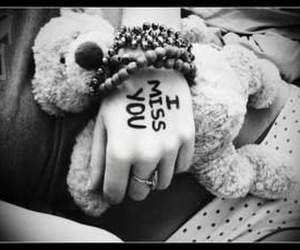 teddy bear, love, and miss image