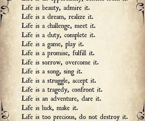 life, mother theresa, and quote image