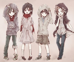 children and kagerou project image