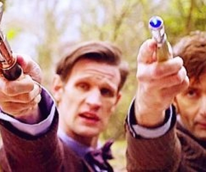 doctor who and 50th anniversary image