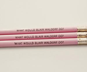 gossip girl, pink, and blair waldorf image
