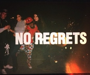 kendall jenner, party, and regrets image