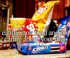 food, diet, and junk food image