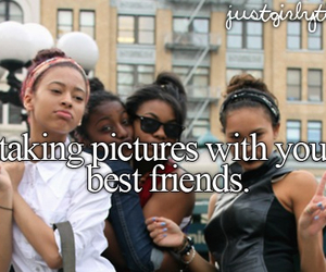 best friends, friends, and pictures image